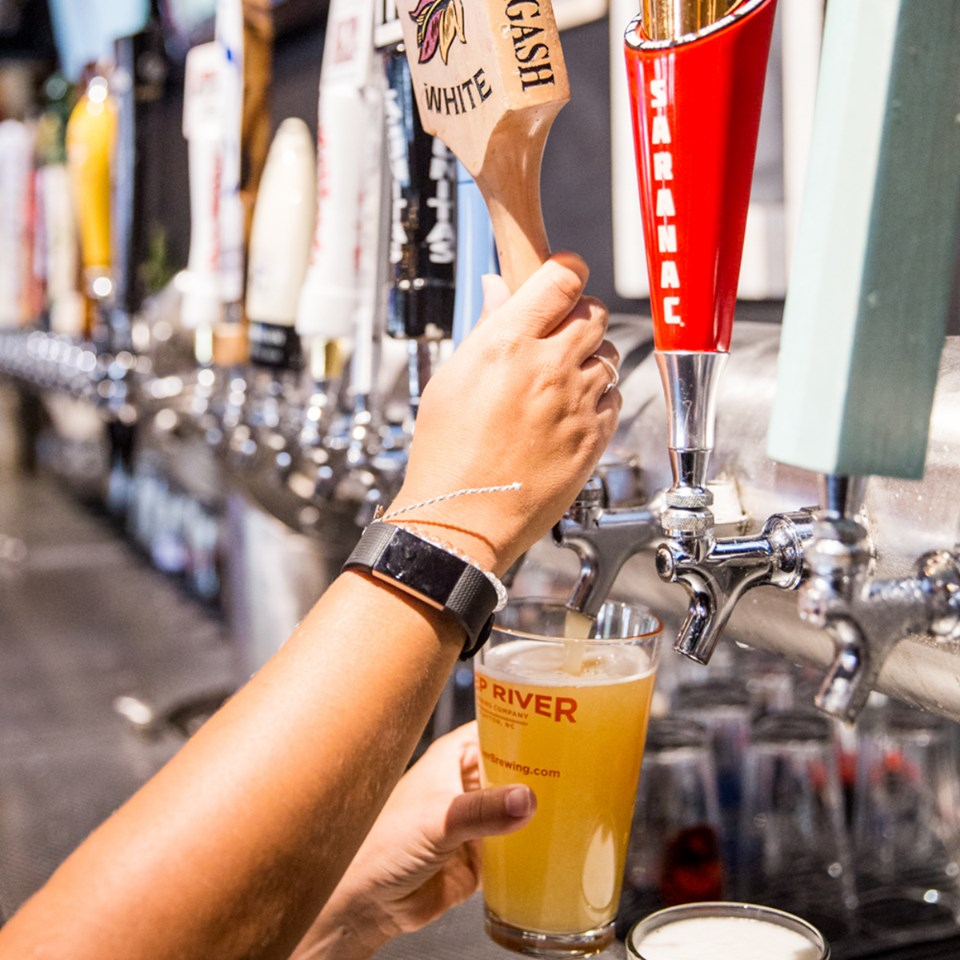 Pouring Beer at O Tap